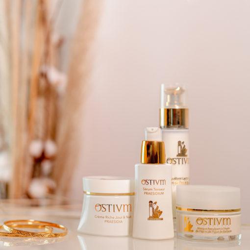 Coffret de cosmétiques bio par Ostium