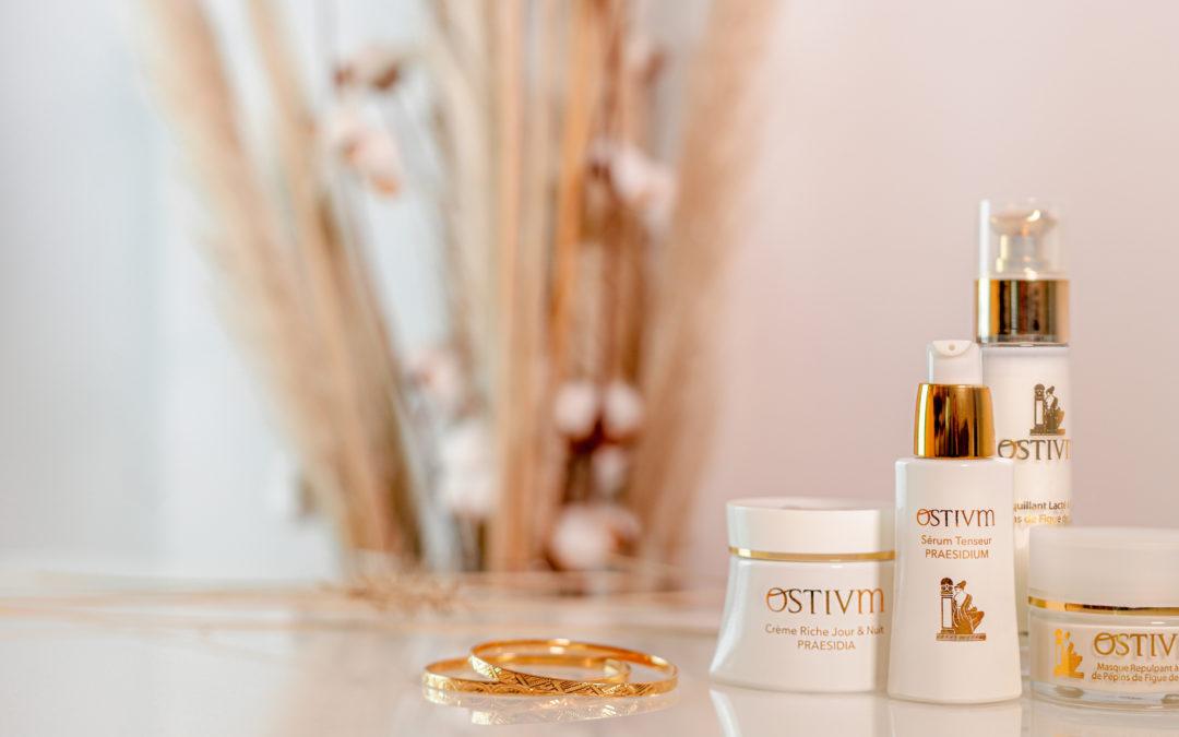 Gamme de cosmétiques bio français anti-age